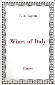 italian wines 1960s
