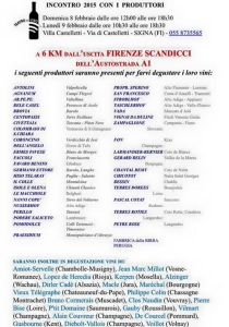 wine fairs italy march