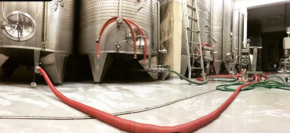 stainless steel tank winemaking